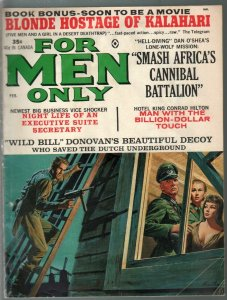 For Men Only 2/1965-Atlas-Nazi horror-Mort Kunstler-Bruce Minney-Earl Norem-VG