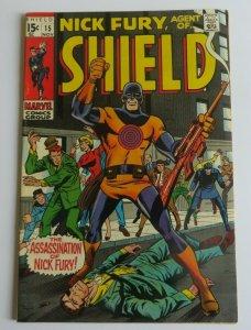 Nick Fury Agent of Shield #15 VF- 1st App. Bullseye Marvel Silver Age Comic 1969