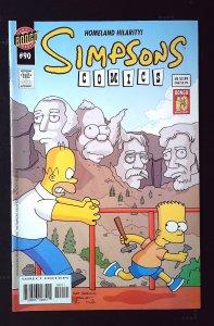 Simpsons Comics #90 (2004)