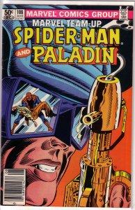 Marvel Team-Up   vol. 1   #108 VG Spider-Man, Paladin
