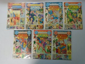 Superman Family lot 21 different from #201-222 last issue avg 7.0 FN VF (1980-82