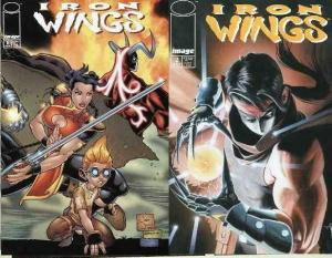 IRON WINGS (2000 IM) 1-2  J.Juch's martial arts fantasy