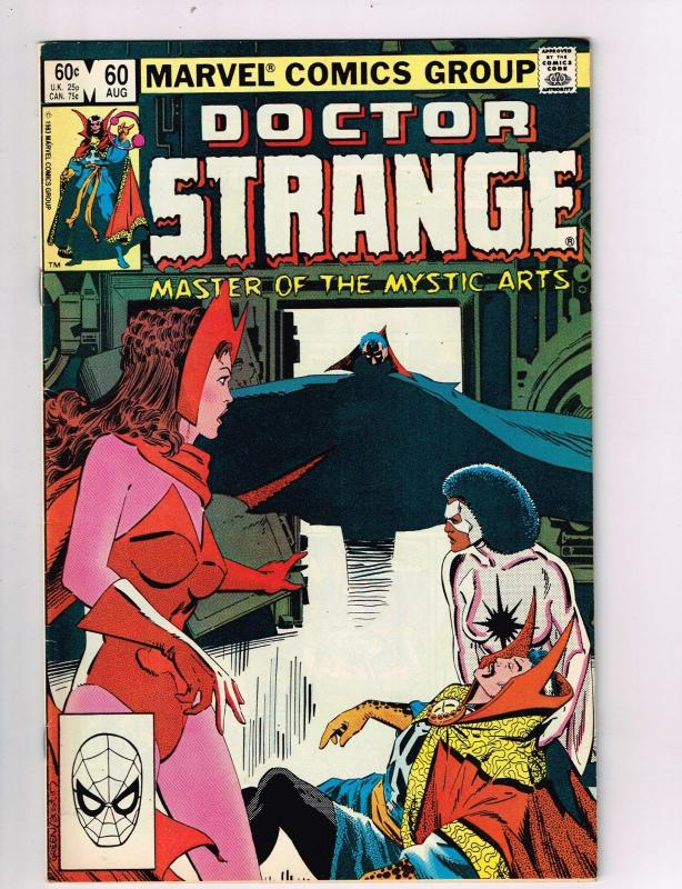 Doctor Strange #60 FN/VF Marvel Netflix Comic Book Defenders Aug 1983 DE42