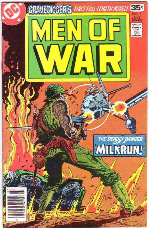 Men of War #7 (Jul-78) NM- High-Grade Gravedigger