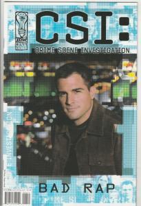 CSI: Crime Scene Investigation Bad Rap #4 (Nov-03) NM+ Super-High-Grade CSI Team