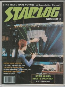 STARLOG MAGAZINE #14 NM- A04820