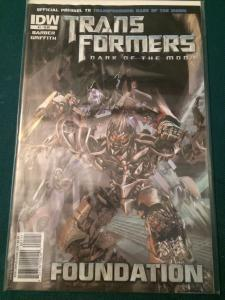 Transformers Dark Of The Moon Prequel #1 Foundation