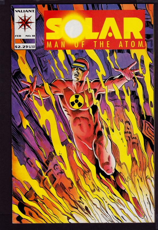 Solar Man of the Atom #18 (1991 Series)   7.0 FN/VF