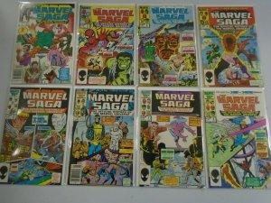 Marvel Saga run #1-16 6.0 FN (1985)