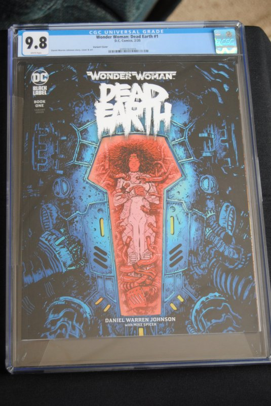 Wonder Woman: Dead Earth, Book One, Variant edition.  9.8 CGC