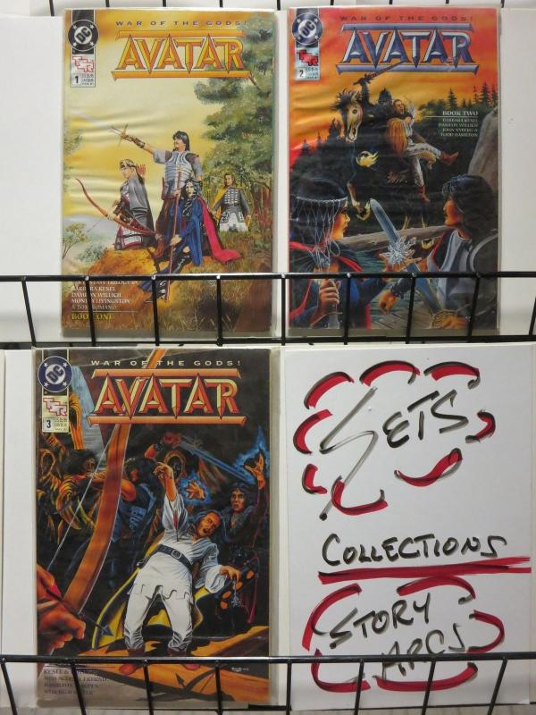 AVATAR (1991) 1-3 F/+ TSR trilogy adapted