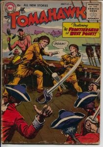 Tomahawk #41 1956-DC-Frontiersmen of West Point-Fight the red coats-G