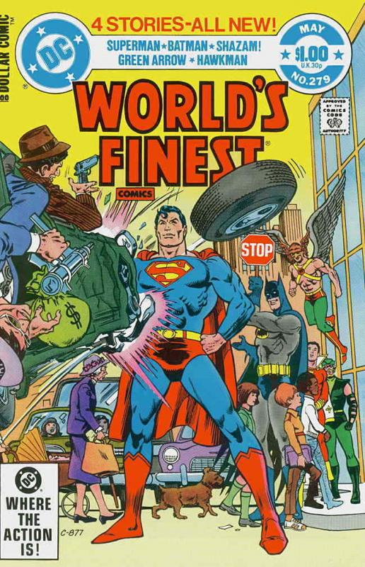 World's Finest Comics #279 FN; DC | save on shipping - details inside