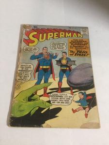 Superman 135 Gd- Good- 1.8 Cover Detached DC Comics Silver Age