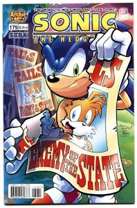 Sonic The Hedgehog #179 2007-archie comics-sega