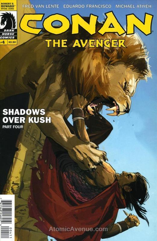 Conan the Avenger #4 VF/NM; Dark Horse | save on shipping - details inside