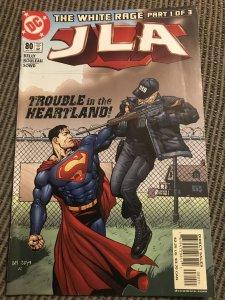 JLA #80 : DC 6/03 Fn; Joe Kelly story; WHITE RAGE part 1