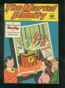 MARVEL FAMILY #30 1948-CAPTAIN MARVEL-MARY MARVEL-FAWCETT-fine FN