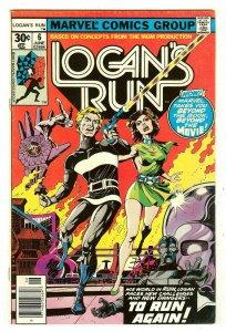 Logan's Run 6   1st Thanos solo story