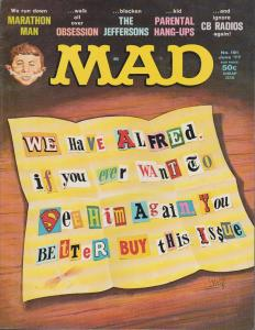 MAD MAGAZINE #191 - HUMOR COMIC MAGAZINE