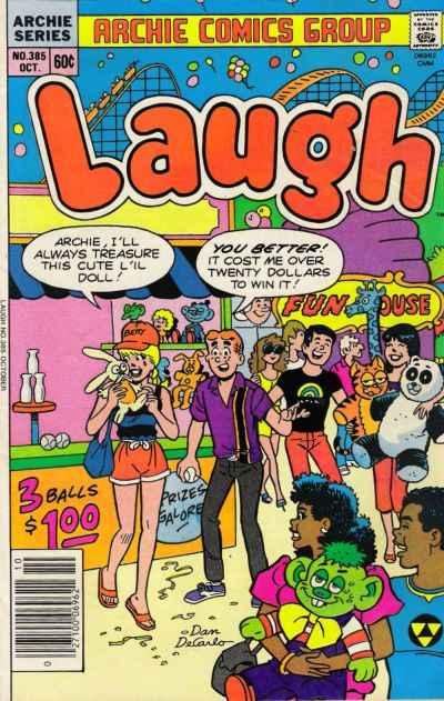 Laugh Comics #385, VF+ (Stock photo)