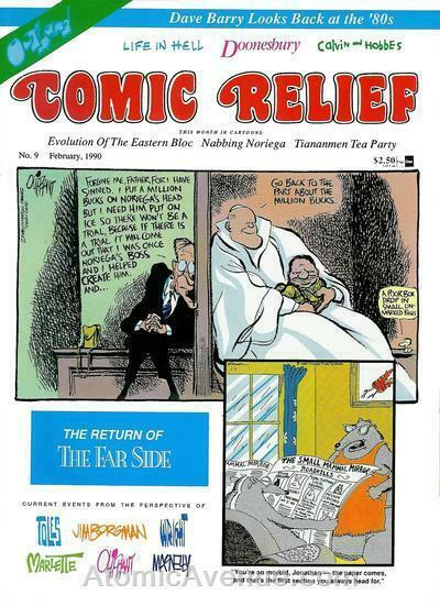 Comic Relief (magazine) #9 FN; Page One | save on shipping - details inside