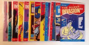 The Silent Invasion 1-12 A Science Fiction Mystery Complete Near Mint Lot Set