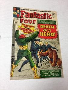 Fantastic Four 32 3.5 Vg- Very Good-