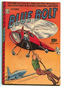 Blue Bolt Vol. 8 #4 1947- Dick Cole- FN-