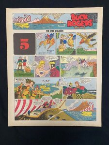 Buck Rogers #5- Sunday pages No. 49-60 - large color reprints
