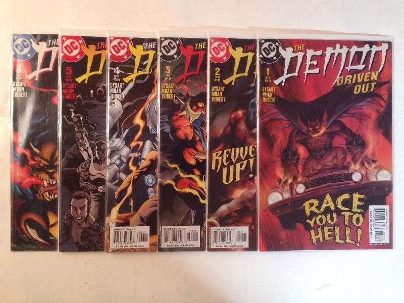 The Demon 1-6 Driven Out Complete Near Mint Lot Set Run
