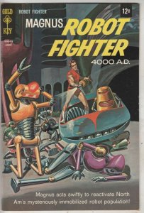 Magnus Robot Fighter #23 (Aug-68) NM- High-Grade Magnus Robot Fighter