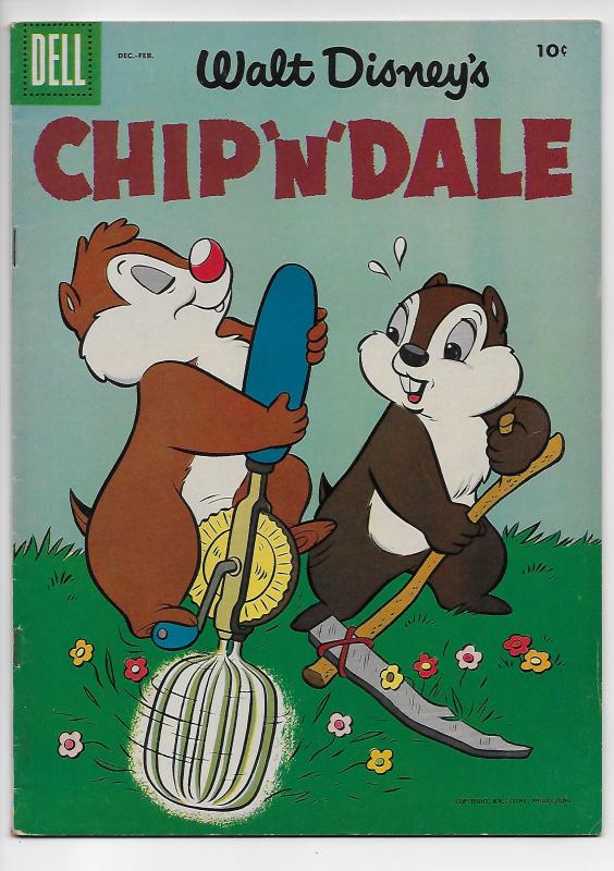 Walt Disney's Chip 'n' Dale #4 (Dell, 1956) - VG/FN