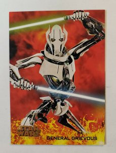 Topps Star Wars Revenge Of the Sith Trading Card #10 General Grievous 2005