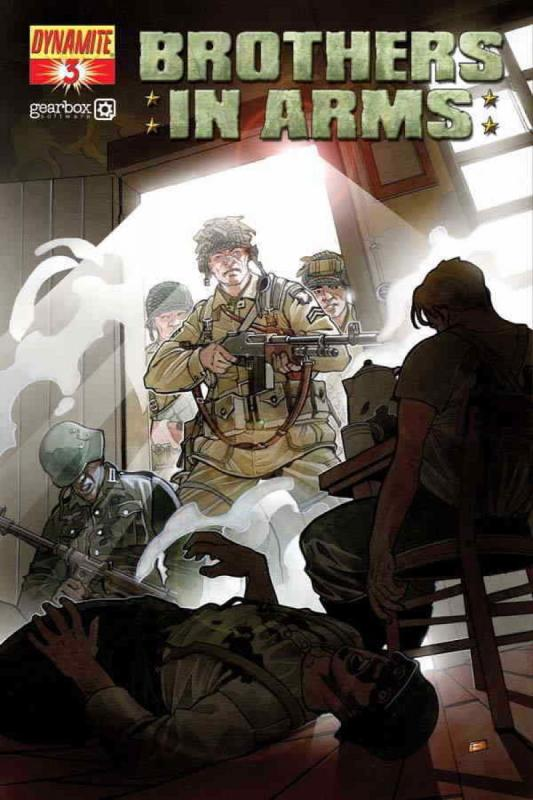 BROTHERS in ARMS #3, NM, WWII, War, Battle, 2008, more indies in store, guns