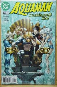 Aquaman #64 (2000) Kaluta Cover !! VF-NM