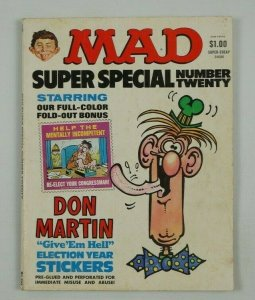 Mad Super Special #20 VG; E.C | low grade comic - save on shipping - details ins