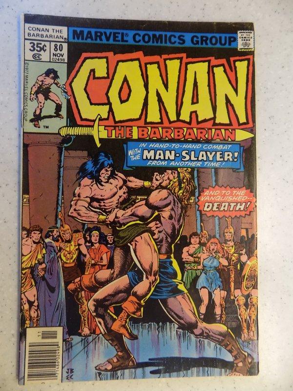 CONAN THE BARBARIAN # 80