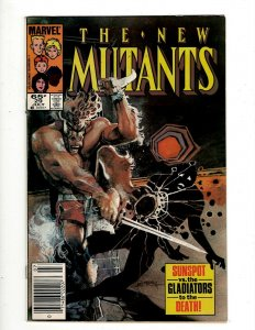 12 The New Mutants Marvel Comic Books #29 31 38 40 41 43 44 47 48 49 50 56 GB2