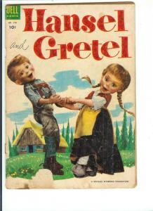 Hansel and Gretel, No.  590 - Golden Age - Oct., 1954 (Good)