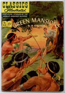 Classics Illustrated #90 ORIGINAL - Green Mansions  FN- 5.5