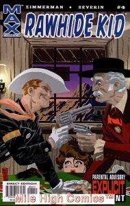 RAWHIDE KID (2003 Series)  (MARVEL MAX) #4 Near Mint Comics Book