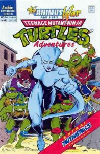 Teenage Mutant Ninja Turtles Adventures (2nd Series) #54 VG; Archie | low grade