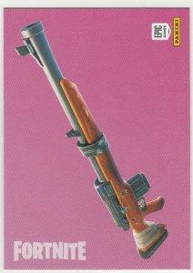 Fortnite Hunting Rifle 103 Uncommon Weapon Panini 2019 trading card series 1