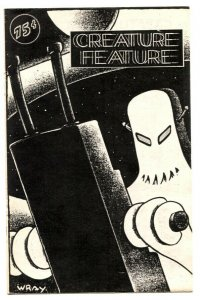 Creature Feature zine #2 1986- Wray- FN