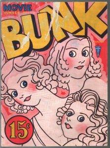 BUNK  Jan 1933-cartoons & gags-Bill Holman-Buford Tune-Movie edition-G