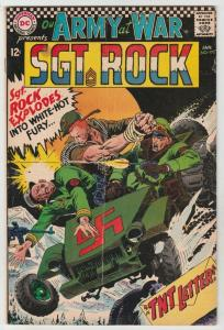 Our Army at War #175 (Jan-67) FN- Mid-Grade Easy Company, Sgt Rock