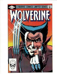 Wolverine # 1 NM Marvel Comic Book Limited Series Frank Miller X-Men Storm DS4