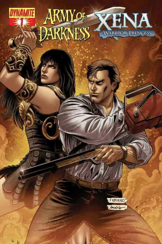 Army of Darkness/Xena #1B VF/NM; Dynamite | save on shipping - details inside