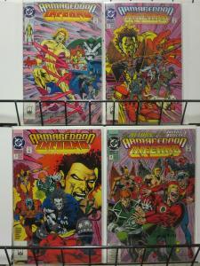 ARMAGEDDON INFERNO (1992) 1-4  Justice Society
